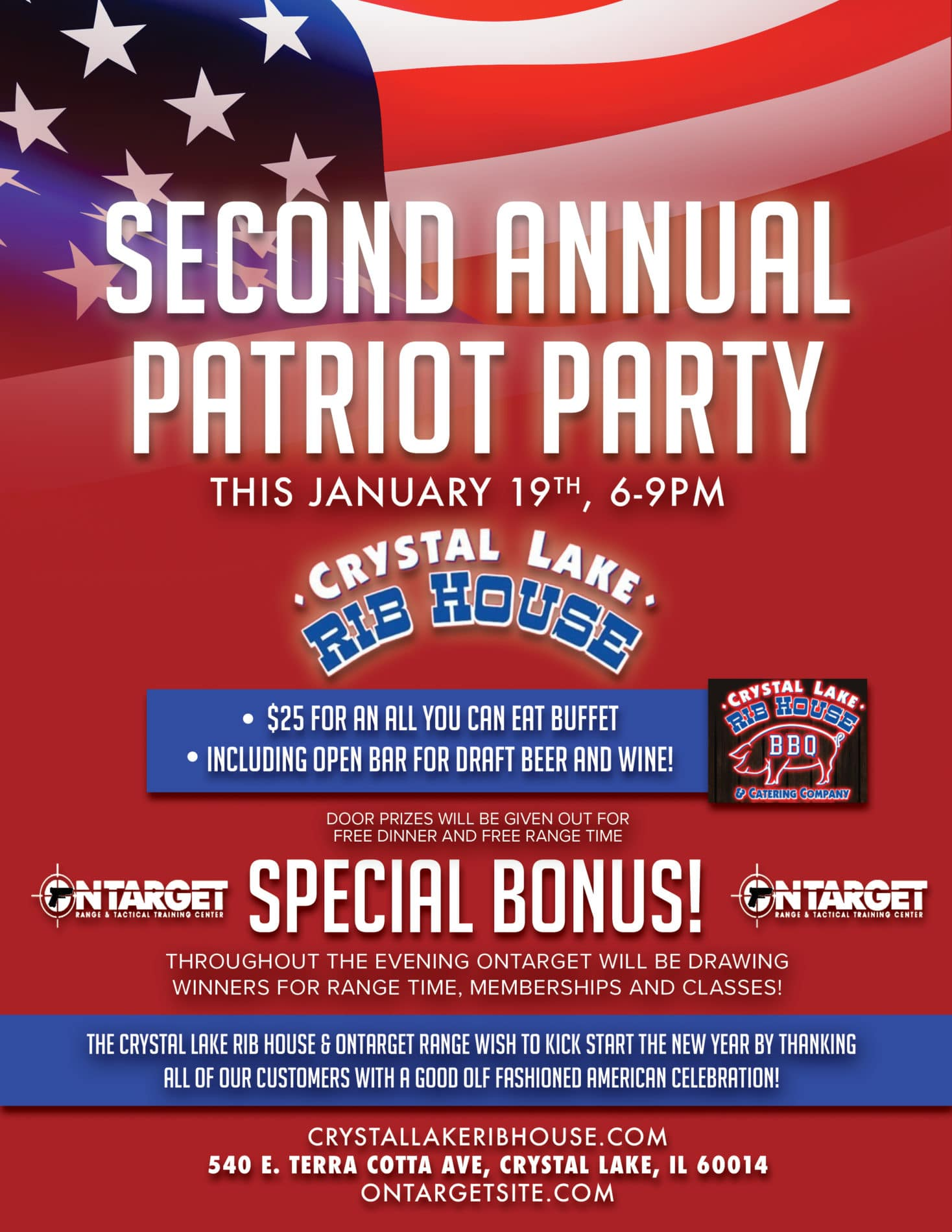 Patriat Party - On Target Range & Tactical Center in Crystal